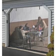shelterlogic 9x8 garage door screen
