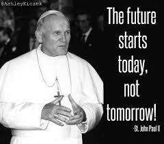 Pope John Paul Ii Quotes New Saint Of The Day St John Paul II