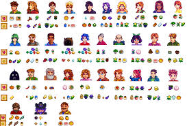 Another Gift Cheat Sheet This Time With Likes Stardew