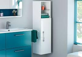 Happy Bathroom Linen Storage Cabinet, White