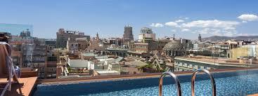 Hotel with Infinity Pool Barcelona Negresco Princess 4 Sup