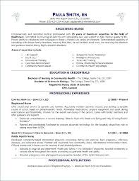 Example Of Nurse Resume Amazing Nursing Resume Example Critical Care Nurse Resume Example Graduate