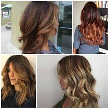 Warm Caramel Tiger Eye Lange Frisuren