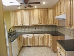 Breathtaking Hickory Kitchen Cabinets Swing Kitchen
