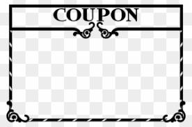Clipart Coupon Template Clipart Coupon Template Blank Coupon Clip Art Free Transparent