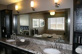 diy wood frame bathroom mirror and tile inside frames for mirrors decorations 15