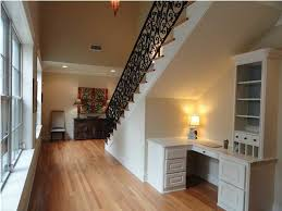 office nook under stairs area homeoffice homeoffice interiordesign understair
