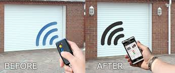 open garage door with phoneIs it possible to control my garage gates using Android smartphone
