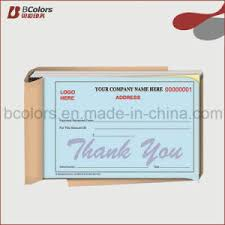 receipt book printing china oem invoice book carbon paper receipt book printing with fast