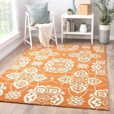 indoor outdoor medallion cream orange area rug rugs ikea