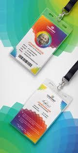 Company Id Design Ideas Modern Corporate Id Card Design Id Card Template Identity