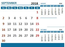 Holiday Calendar Template Beauteous September 48 Calendar With Holidays Free Calendar Templates