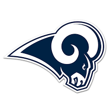 Los Angeles Rams NFL Logo Sticker