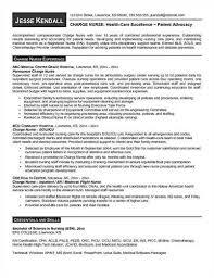 Charge Nurse Resume Cute Sample Charge Nurse Resume Free Career