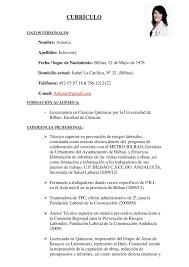 Modelo De Curriculum Vitae Pdf Zooz1 Plantillas
