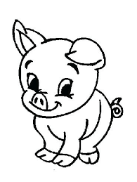 Animal Coloring Pages For Preschoolers Farm Coloring Pages Baby Farm