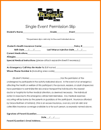 Permission Slip Template 24 Church Youth Group Permission Slip Template Sales Slip Template 18