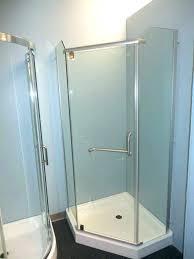 delta corner shower sofa delta shower pan x corner center iron medium size of panel c