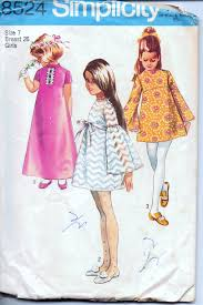 Vintage Sewing Patterns Delectable Simplicity 48 Girls' Dress Short Or Long Vintage 48's Sewing