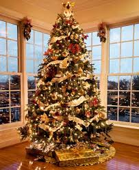 Nicely decorated Christmas Tree