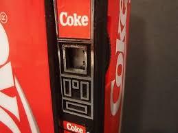 Vending Soda Machine Mesmerizing MINI ENJOY COKE Red Vending PopSoda Machine AMFM Radio CocaCola