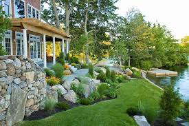 Back To Front Yard Landscaping On A Slope Ideas Sloped