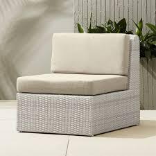 modern rattan furniture. Ebb Armless Chair Modern Rattan Furniture N