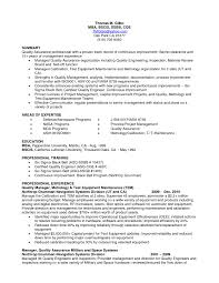 Best Lean Six Sigma Green Belt Resume Contemporary Entry Level