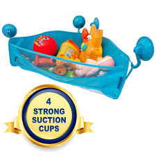 Bathroom Toys Storage Bath Toy Organizer Navy Penguin