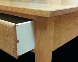 shaker writing desk dovetailed drawers pinned mortise tenon joints shaker cottage writing desk