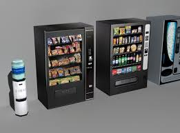 Free Pictures Of Vending Machines Delectable Office Drink Machines Low Poly 48D Model CGTrader
