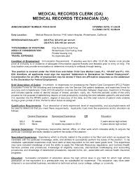 Sample Resume For Entry Level Clerical Position New A Hospital
