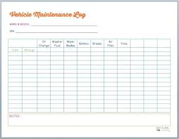 Vehicle Maintenance Record Book Car Service Record Template Ideal Vehicle Excel Relevant Therefore
