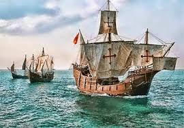 In 1492 Christopher Columbus sails from Spain fulfilling prophecy to create America, where the Jews are restored--from the same country that expelled the Jews in 1492.  { Image source: stxmaps.com in Corpus Christi, Texas, my hometown}