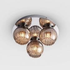 radcliff glass mount ceiling light