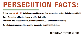 Persecution Quotes Christian Best of Praying For Persecuted Christians Craig T Owens