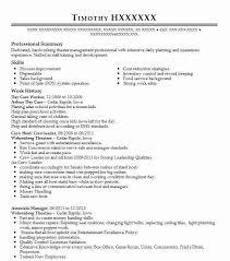 Day Care Resume Day Care Worker Resume Sample Caregiver Resumes Livecareer