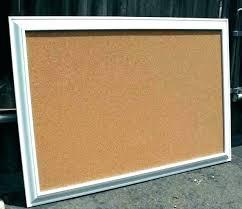 framed bulletin boards hobby lobby large cork board decorative white fr