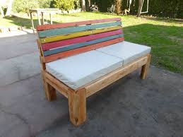 diy pallet outdoor dinning table. Diy Pallet Patio Furniture Lovely 4 Seater Outdoor Bench Or Sofa Of  Diy Pallet Outdoor Dinning Table