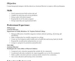 Examples Of Special Skills For Resume Interests And Skills Resume
