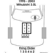 2003 mitsubishi montero sport 3 0 firing order vehiclepad 2003 mitsubishi montero sport v6 firing order diagram questions
