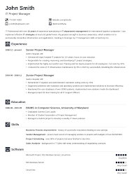 Resum Template 24 Resume Templates [Download] Create Your Resume In 24 Minutes 3