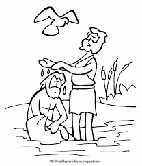 Small Picture Baptism Coloring Pages AZ Coloring Pages sunday school ideas