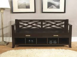 Metal Entryway Storage Bench With Coat Rack Sei Black Metal Entryway Storage Bench With Coat Rack Compact Metal 32