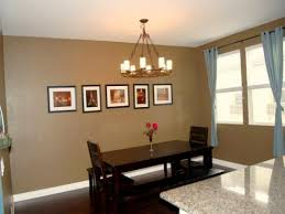 Plain Dining Room Paint Ideas With Accent Wall For S Painting Inside Design