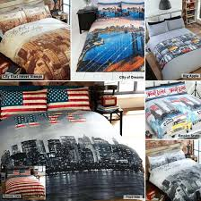 new york city bedding sets new city skyline themed reversible bedding duvet new city skyline themed reversible bedding duvet quilt cover set bedding sets