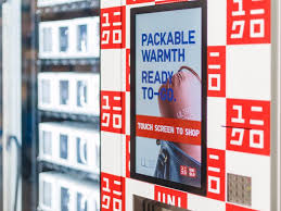 Uniqlo Vending Machine