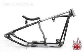 200 bobber frame with solo seat for harley davidson evolution