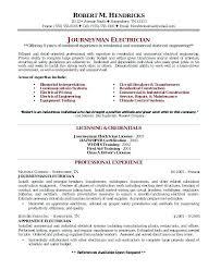 Industrial Electrician Resume Sample Technician Resume Sample ...