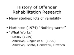 martinson nothing works what works effective interventions with sex offenders r karl
